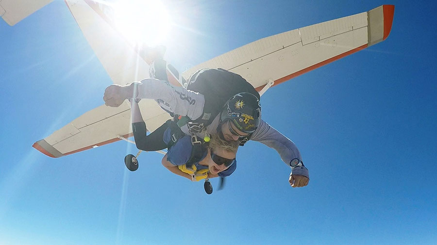 Desert Skydiving Center Dropzone Image