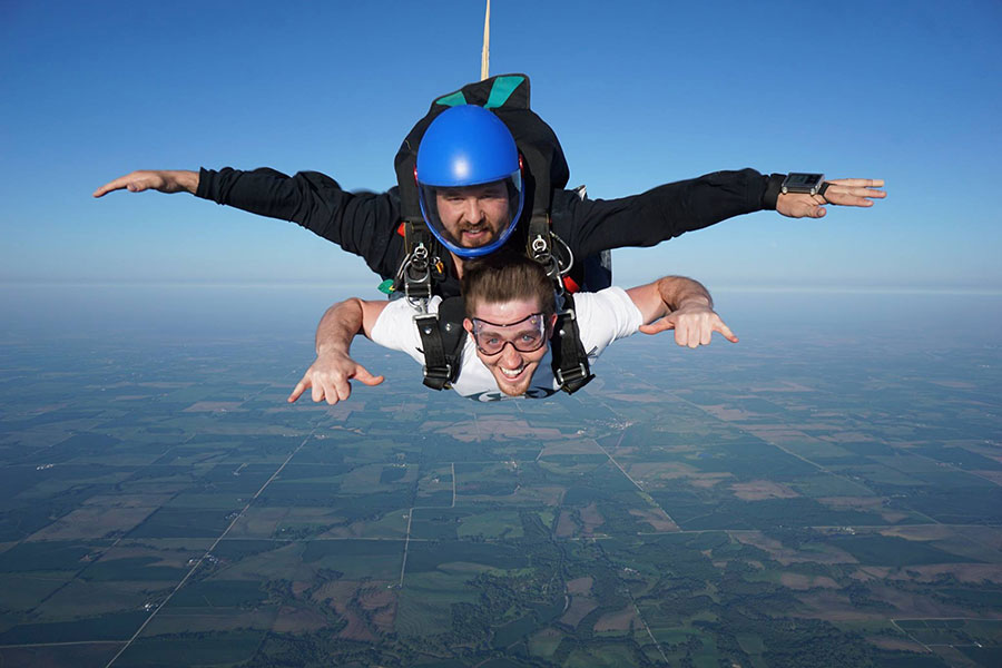 Lincoln Sport Parachute Club Dropzone Image