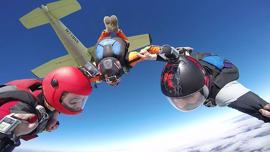 Oklahoma Skydiving Center Dropzone Image