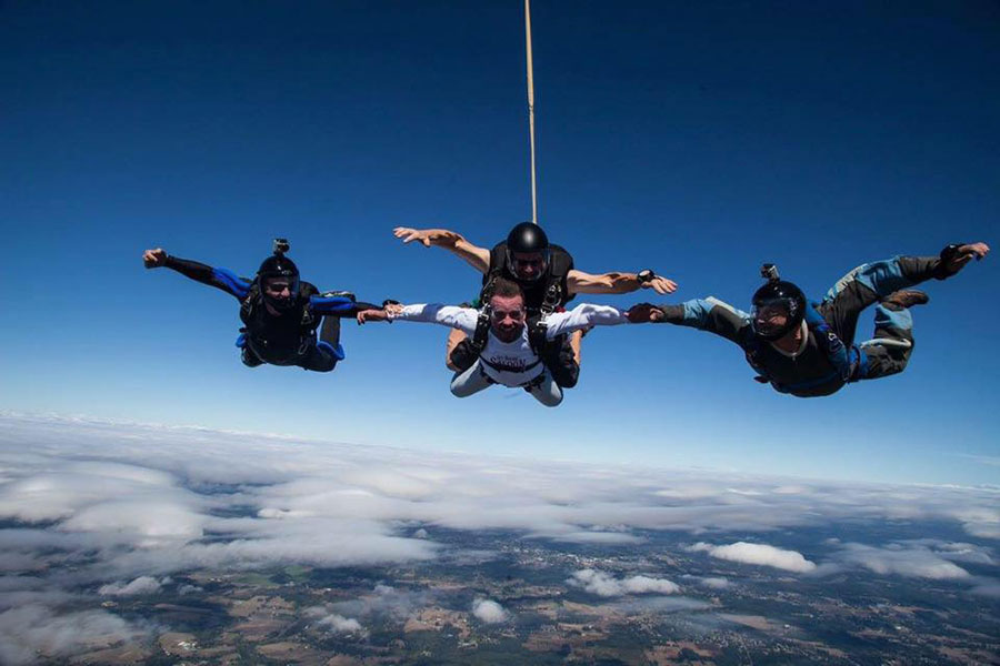 Pacific Northwest Skydiving Center Dropzone Image