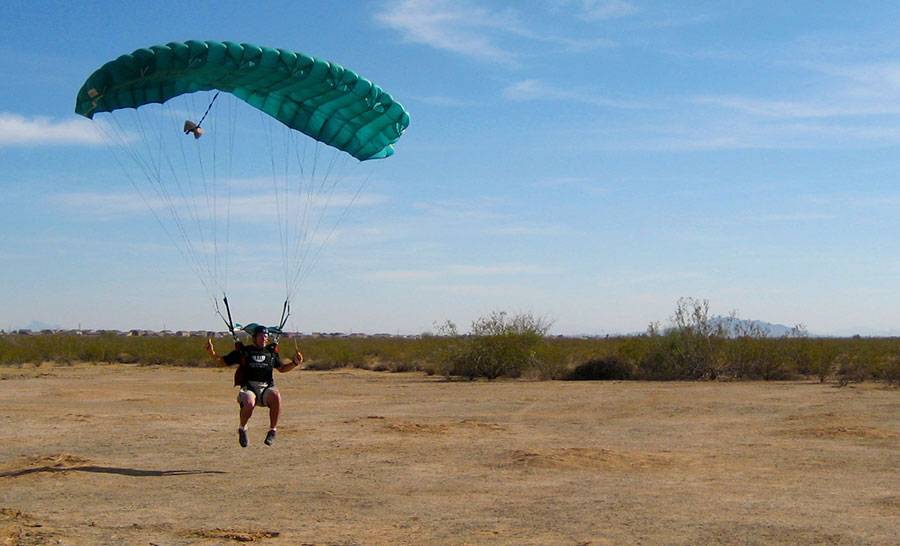 Phoenix Area Skydiving Dropzone Image