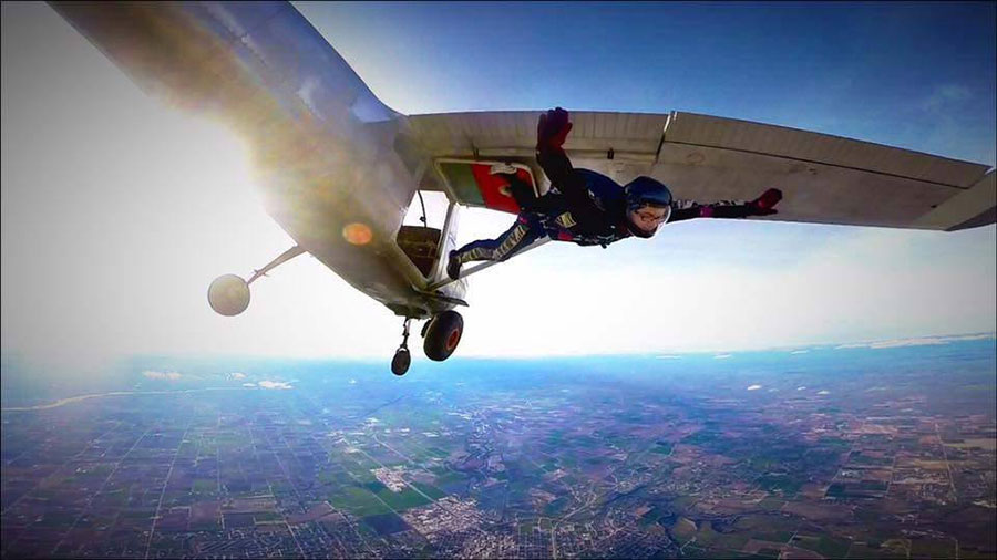 Sky Down Skydiving Dropzone Image