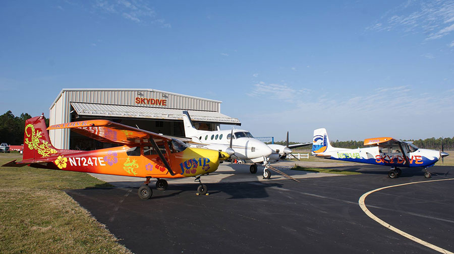 Skydive Coastal Carolinas Dropzone Image