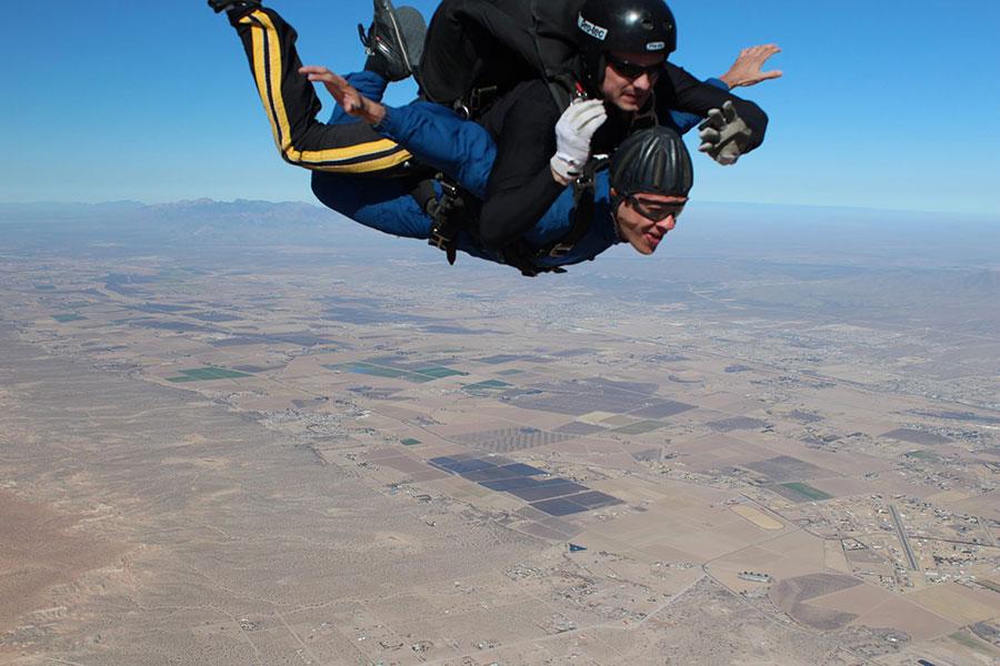 Indoor skydiving industry
