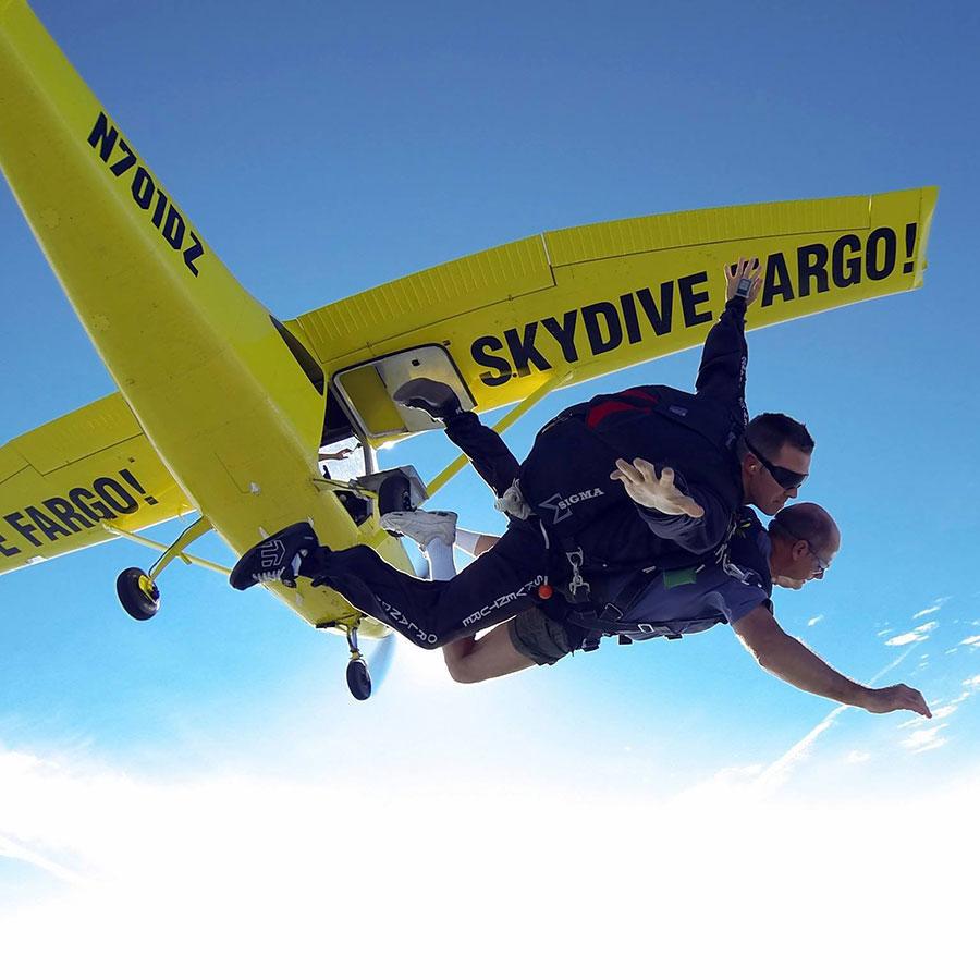 Skydive Fargo Dropzone Image