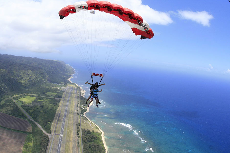 Skydive Hawaii Dropzone Image