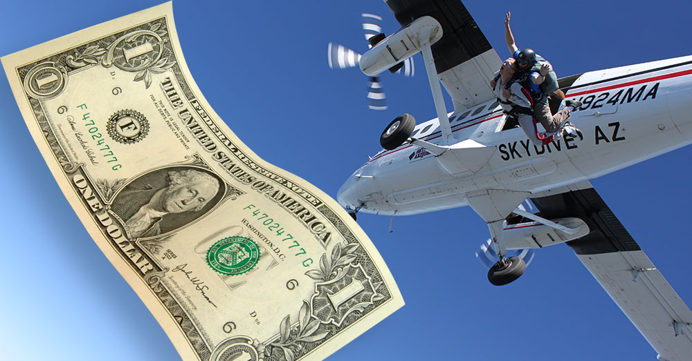 Skydiving Prices Header Image