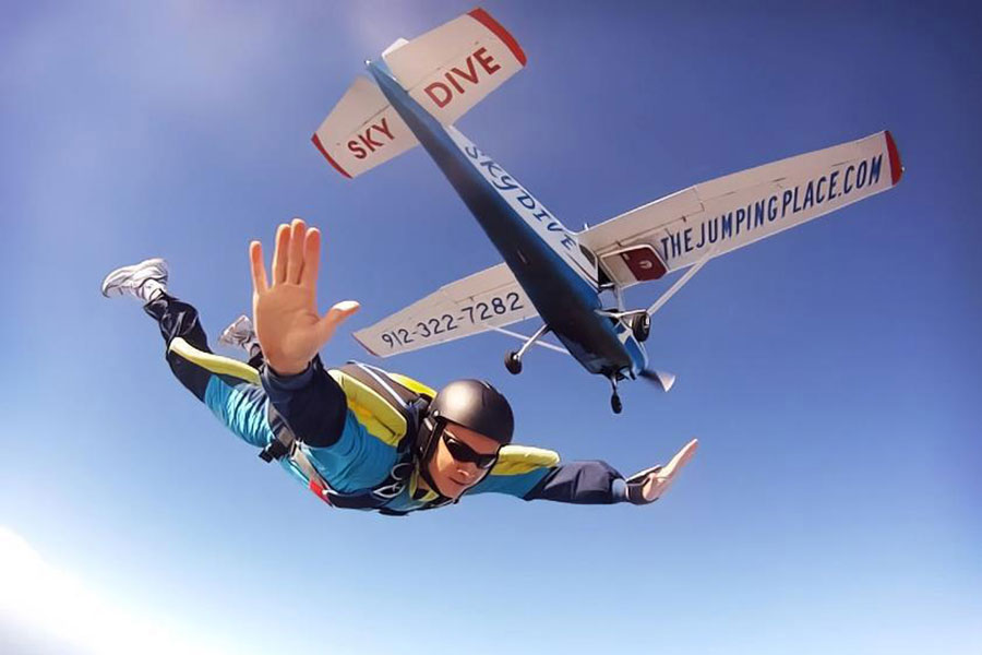 The Jumping Place Skydiving Center Dropzone Image
