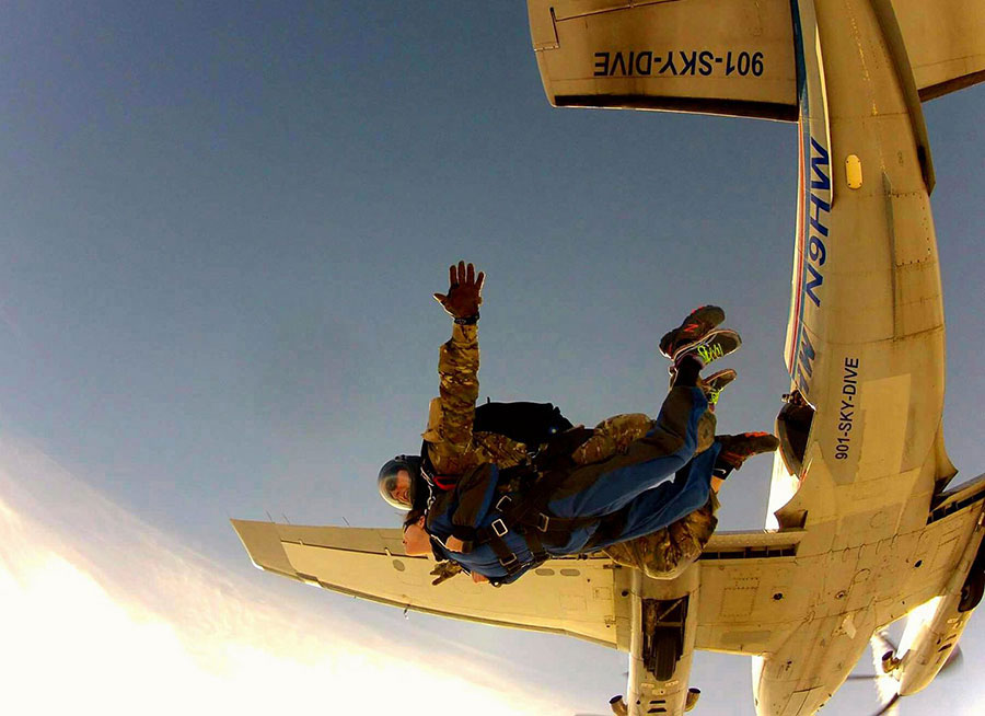 West Tennessee Skydiving Dropzone Image
