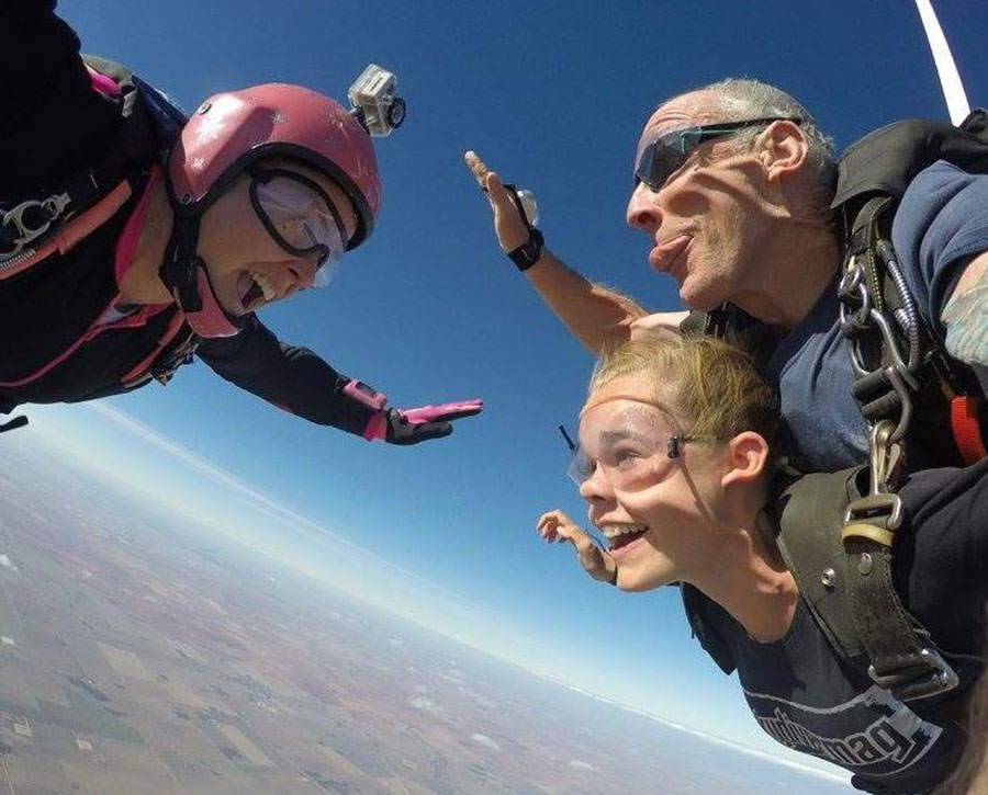 Adelaide Tandem Skydiving Dropzone Image