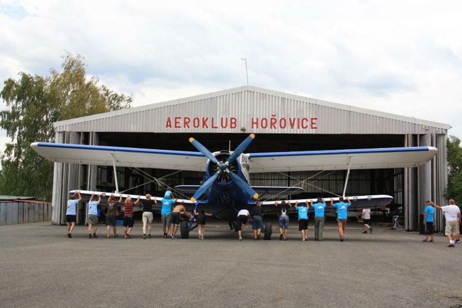 Aeroklub Horovice Dropzone Image