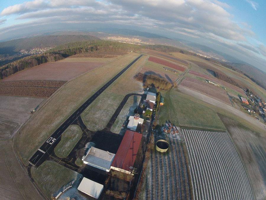 Air-Sport Fallschirmsportzentrum Odenwald Dropzone Image