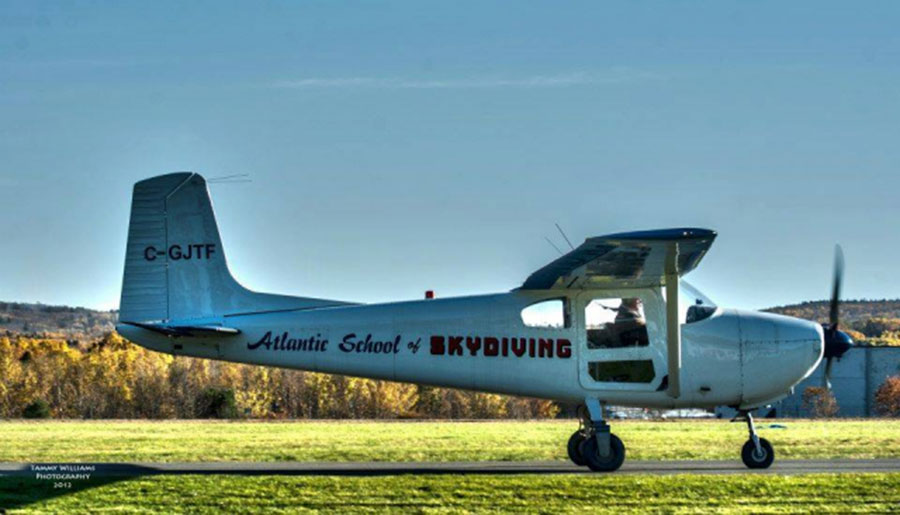 Atlantic School of Skydiving Dropzone Image