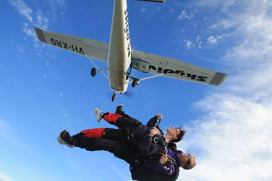 Australian Skydive Dropzone Image