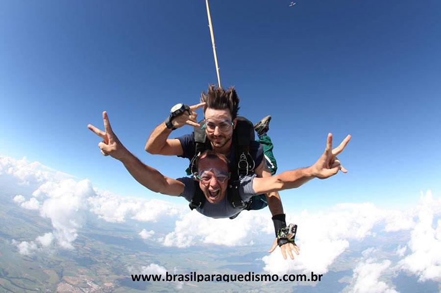 Brasil Paraquedismo Dropzone Image