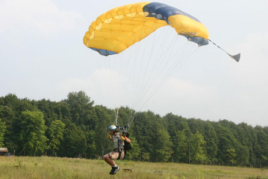Chernihiv's Parachute Club Progress Dropzone Image