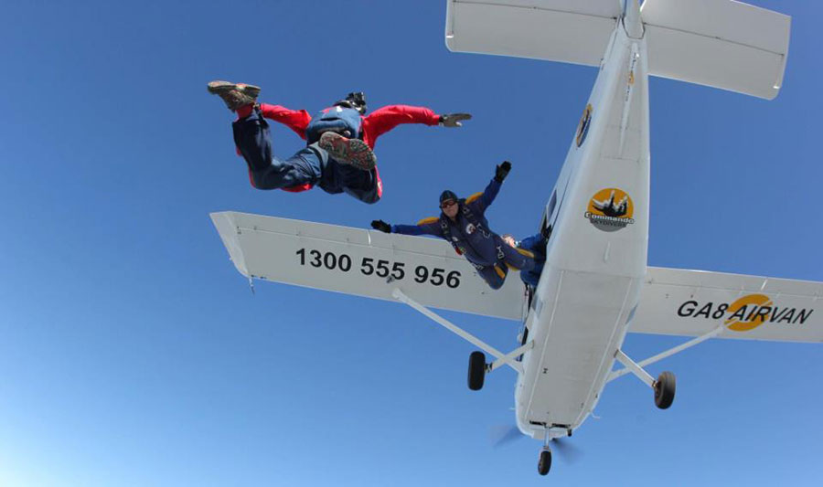 Commando Skydivers Dropzone Image