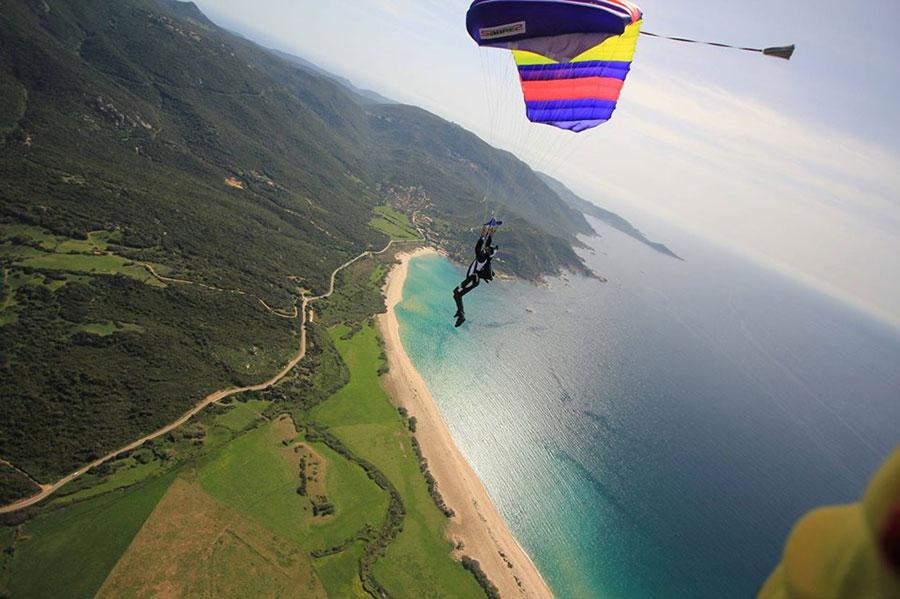 Corse Parachutisme Dropzone Image