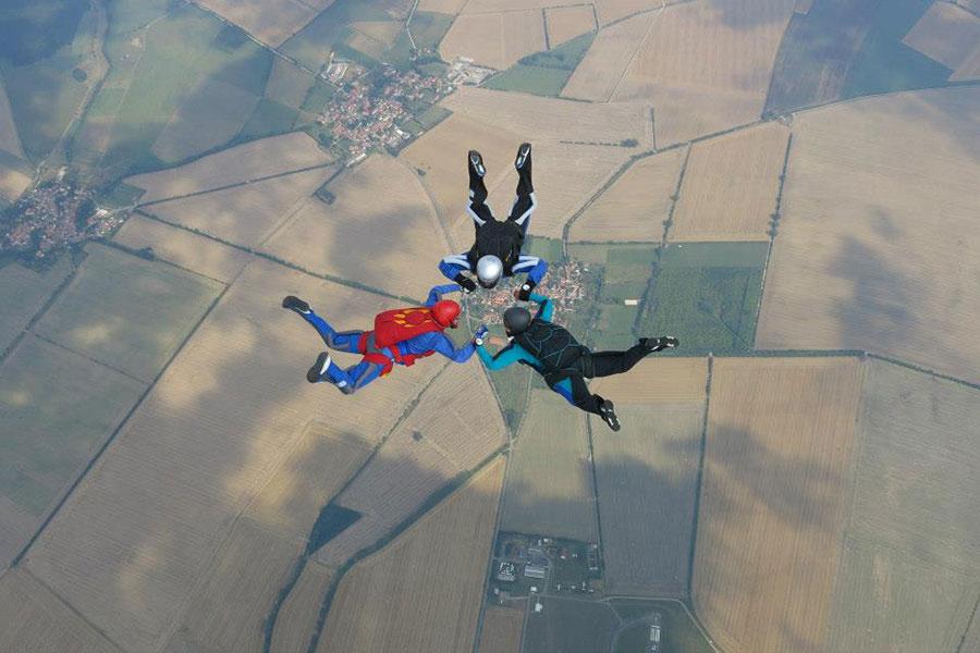 Fallschirmspringen Erfurt Dropzone Image