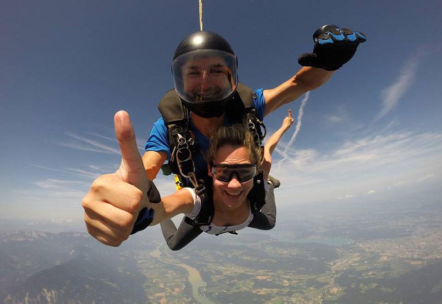 Kärntner Fallschirmspringer Club Dropzone Image
