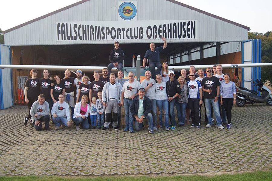 Fallschirmsportspringerclub Oberhausen Dropzone Image