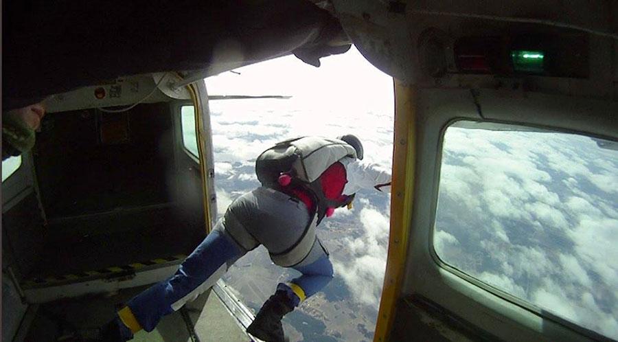 Fallskärmsklubben Aros Dropzone Image