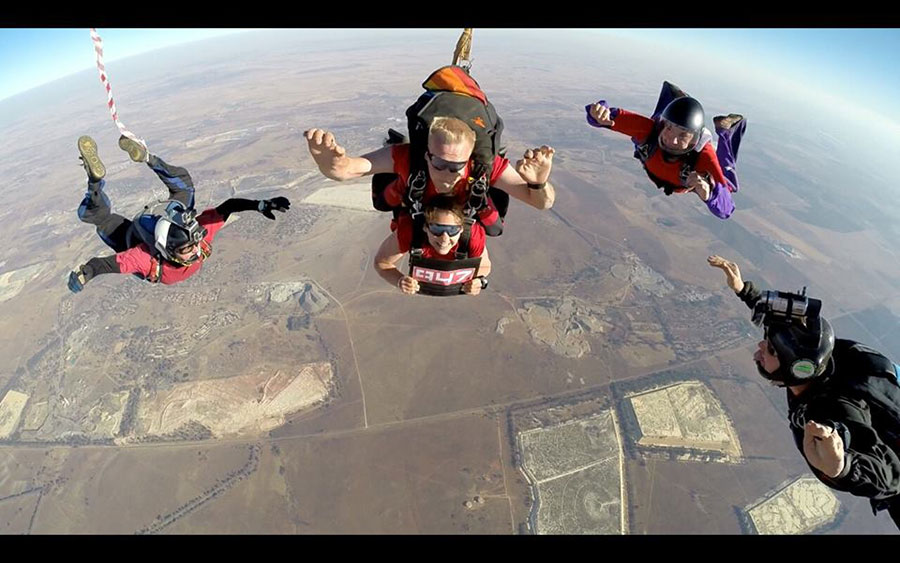 Johannesburg Skydiving Club Dropzone Image