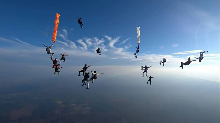 OJB Parachutisme Dropzone Image