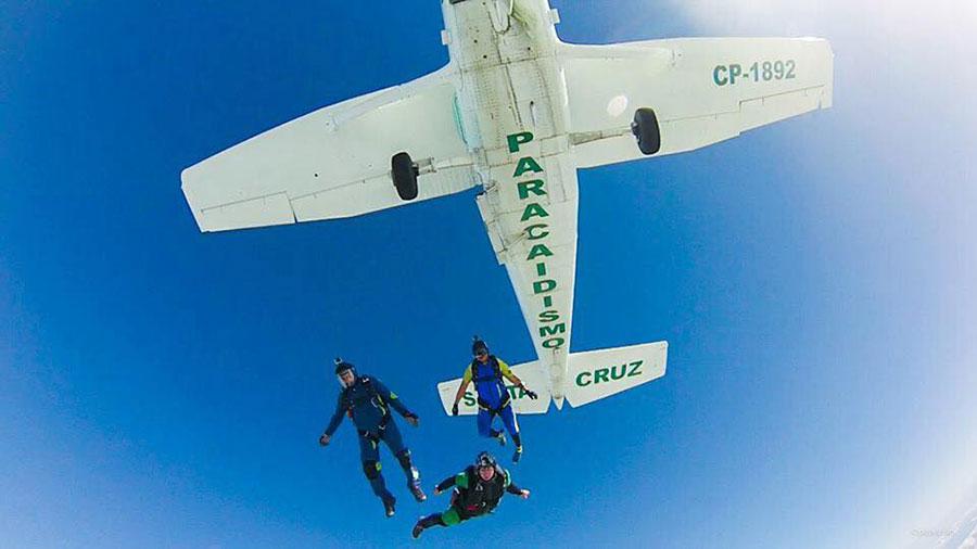 Paracaidismo Santa Cruz Dropzone Image