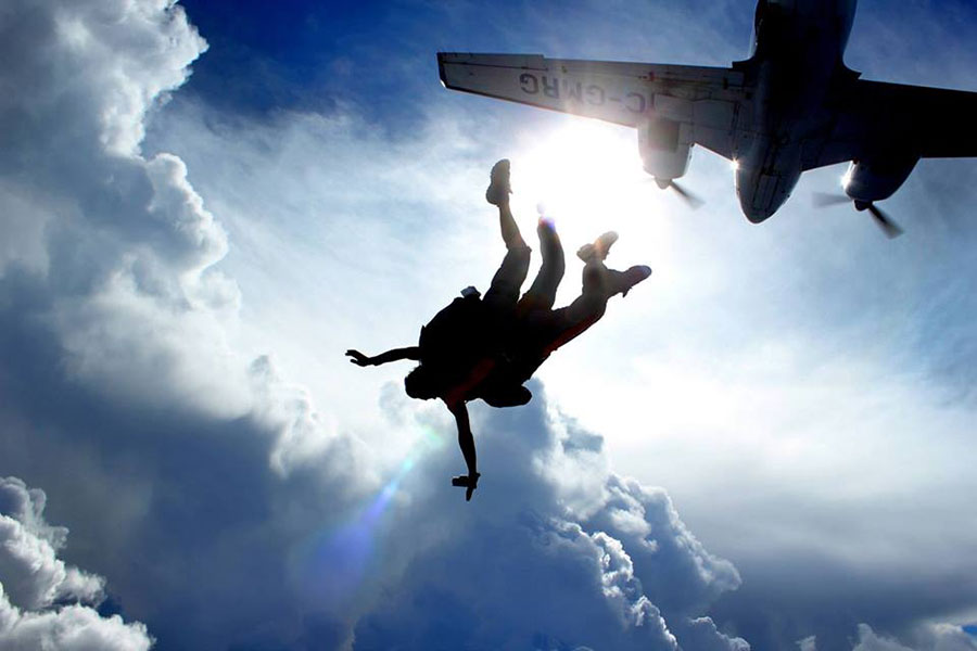 Parachute Go Skydive Dropzone Image