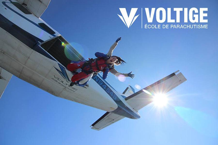 Parachute Voltige Dropzone Image