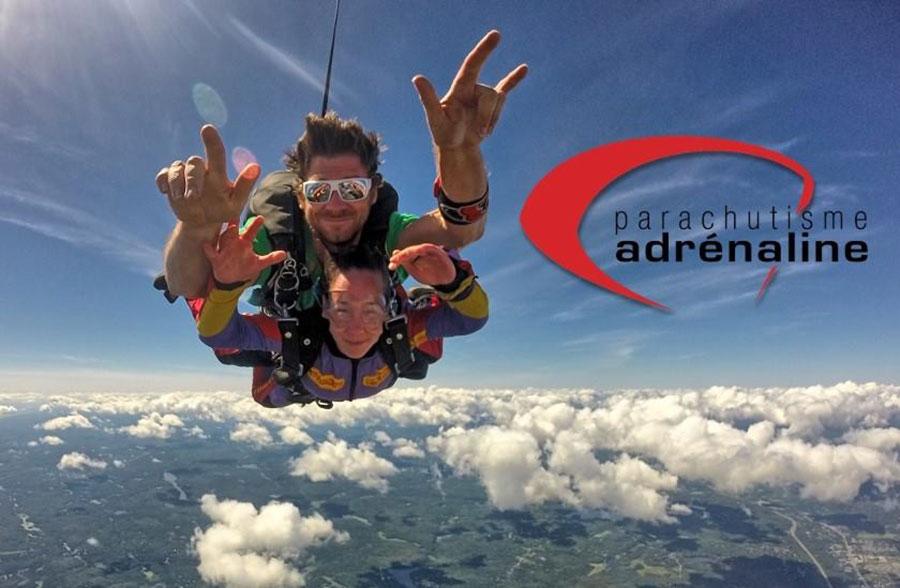Parachutisme Adrenaline Dropzone Image