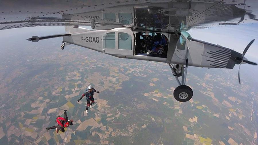 Saumur Skydive Dropzone Image