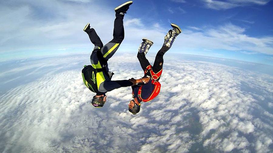 Seventhsky Fallschirmspringen Sylt Dropzone Image