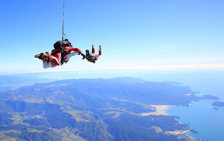 Skydive Abel Tasman Dropzone Image