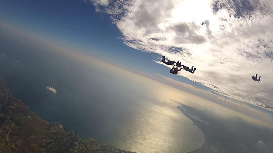 Skydive Cyprus Dropzone Image