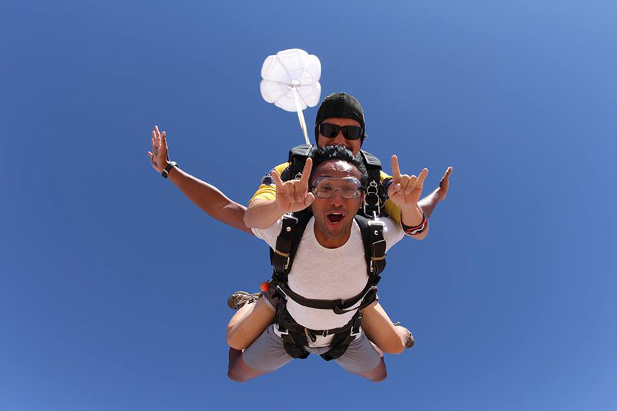 Skydive Dubai - Desert Campus Dropzone Image