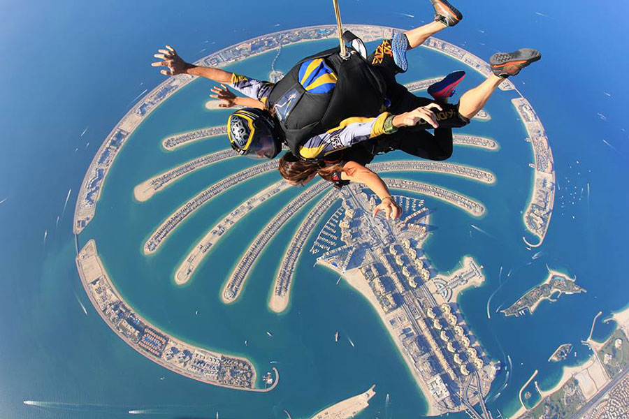 Skydive Dubai - The Palm Dropzone Image