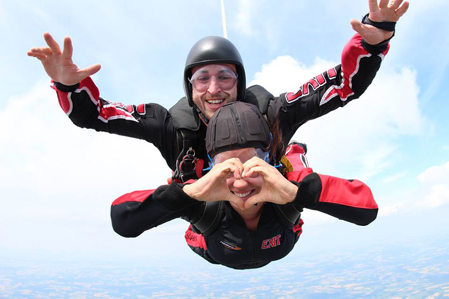 Skydive Exit Dropzone Image
