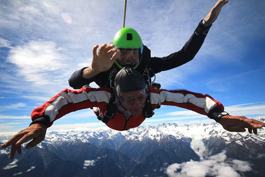 Skydive Franz Josef Glacier Dropzone Image