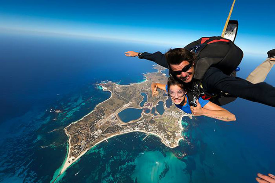 Skydive Geronimo Rottnest Dropzone Image