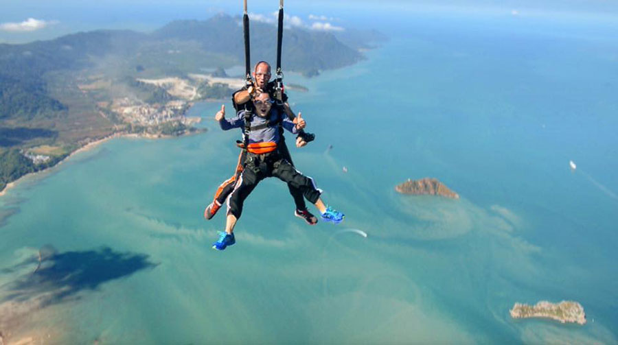 Skydive Langkawi Dropzone Image