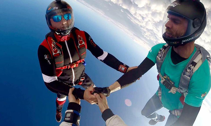 Skydive Madrid Dropzone Image