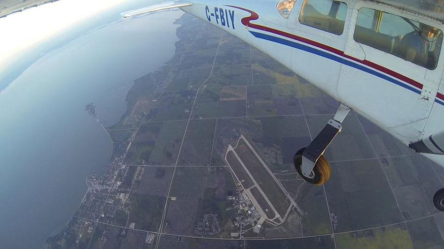 Skydive Manitoba Dropzone Image