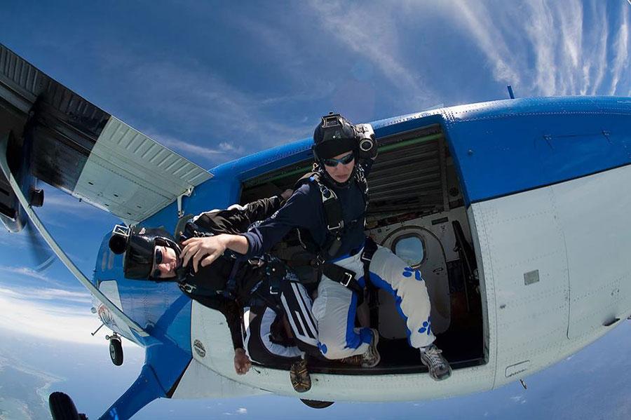 Skydive Moncton Dropzone Image