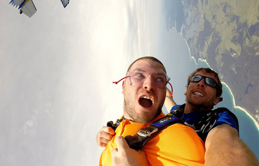 Skydive Oz Orange NSW Dropzone Image