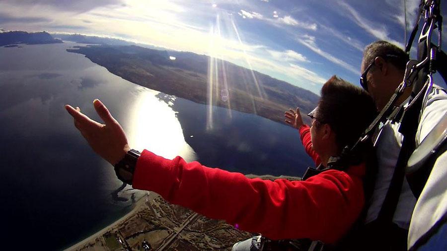 Skydive Patagonia Dropzone Image