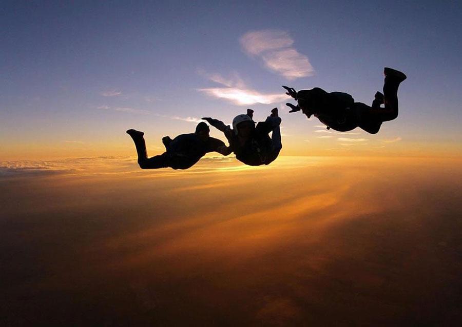 Skydive Qatar Dropzone Image