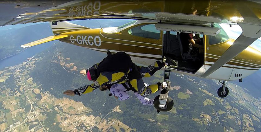 Skydive Salmon Arm Dropzone Image