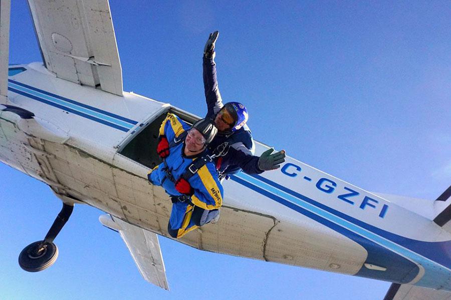 Skydive Toronto Dropzone Image